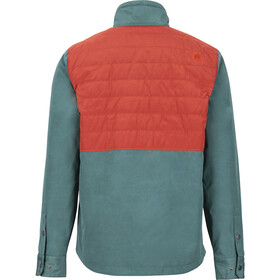 Marmot Weslo Jacket Herr mallard green/dark rust